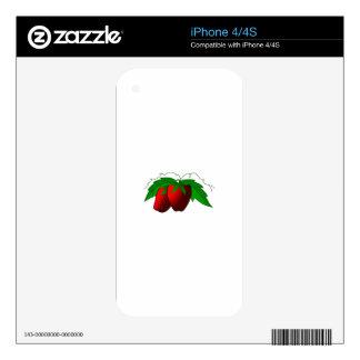 Fresas Calcomanías Para iPhone 4