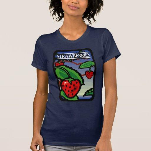 Fresas Camiseta