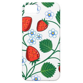 Fresas de Emma Janeway Funda Para iPhone 5 Barely There