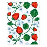 Fresas de Emma Janeway Postal