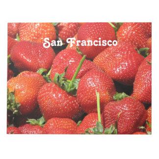 Fresas de San Francisco Libreta Para Notas