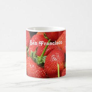 Fresas de San Francisco Taza Clásica