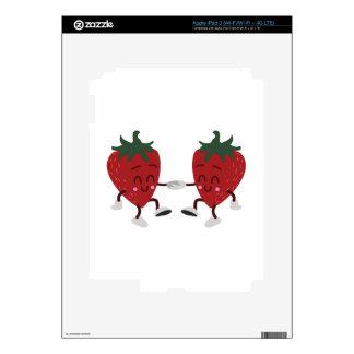 Fresas del baile iPad 3 skin