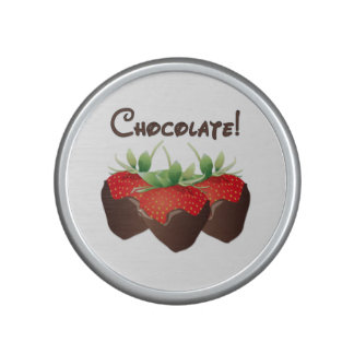Fresas del chocolate altavoz