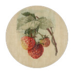 Fresas del vintage tablas para cortar