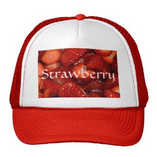 Fresas deliciosas gorras