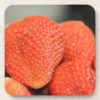 Fresas deliciosas posavaso