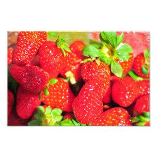 Fresas Fotografía