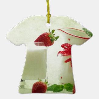 Fresas frescas en el estilo de casal