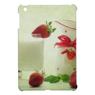 Fresas frescas en el estilo de casal iPad mini funda
