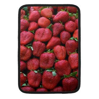 Fresas frescas funda  MacBook