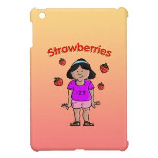 Fresas iPad Mini Funda