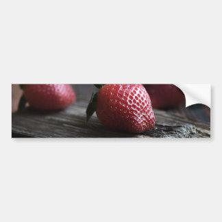 Fresas hermosas pegatina para auto