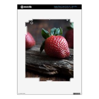 Fresas hermosas pegatinas skins para iPad 3