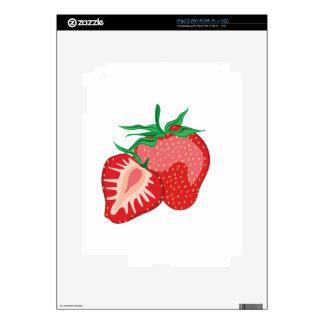 Fresas iPad 2 Skins