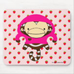 Fresas Mousepad - LULU del mono de Marte Tapete De Ratón