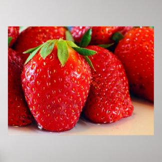 Fresas Póster