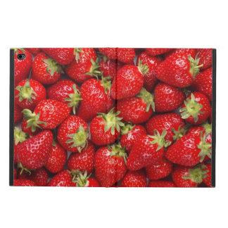 Fresas rojas brillantes