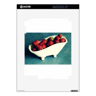 Fresas rojas frescas iPad 2 skins