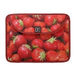 Fresas rojas fundas macbook pro