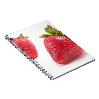 Fresas rojas libro de apuntes