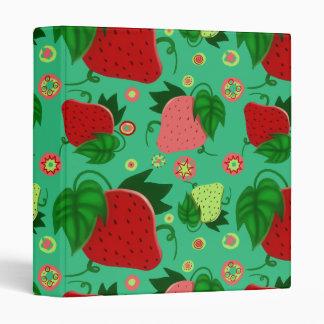 """Fresas rosadas verdes rojas carpeta 1"""""""