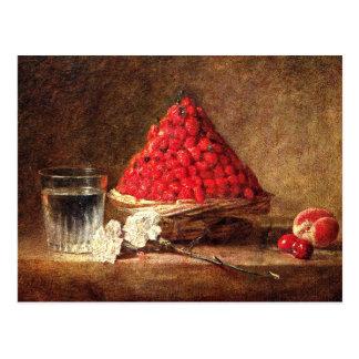 Fresas salvajes de Jean Simeon Chardin Tarjetas Postales