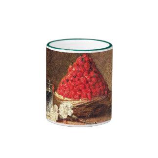 Fresas salvajes de Jean Simeon Chardin Taza De Dos Colores