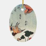 Fresas salvajes y pájaros ornamentos de reyes