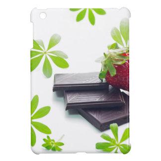 Fresas Schoko maestro de bosque quieto vida iPad Mini Carcasa