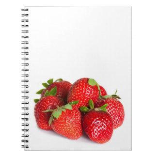 Fresas Spiral Notebook