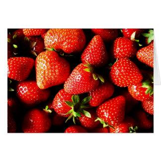 Fresas Felicitación
