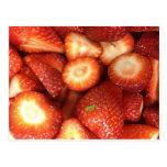 ¡Fresas! Tarjetas Postales