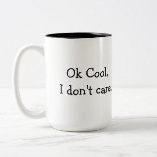 Fresco aceptable, no cuido la taza de café