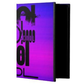 Fresco; Azul violeta y magenta vibrantes