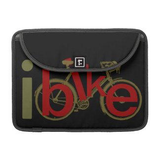 """fresco """"Bike"""" diseño del deporte Fundas Para Macbooks"""