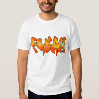 ¡Fresco! Camiseta de Grafiti Polera