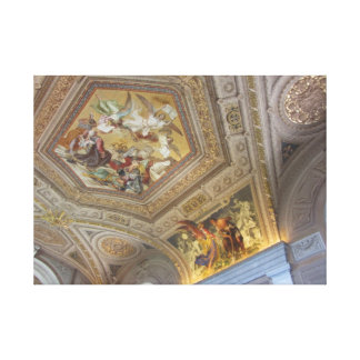 Fresco Ceiling Painting Stretched Canvas Print