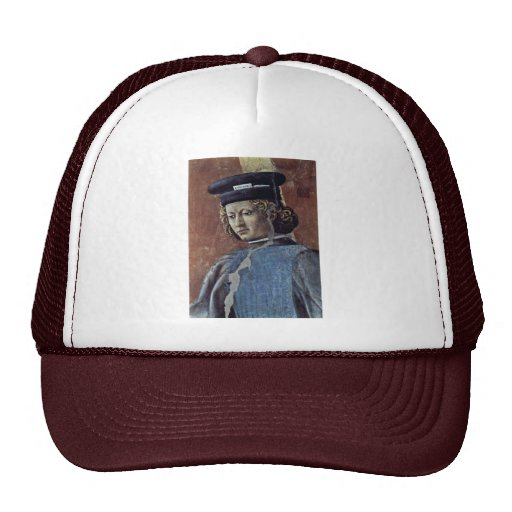 """Fresco Cycle Of The """"Legend Of The Holy Cross Mesh Hats"""