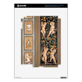 Fresco de Cupids de la iglesia de St. Ambroglio, iPad 3 Skin