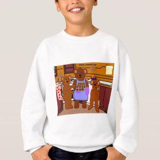 Fresco de la camiseta del horno playeras