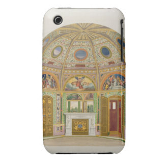 Fresco decoration in the Summer House of Buckingha iPhone 3 Case-Mate Cases
