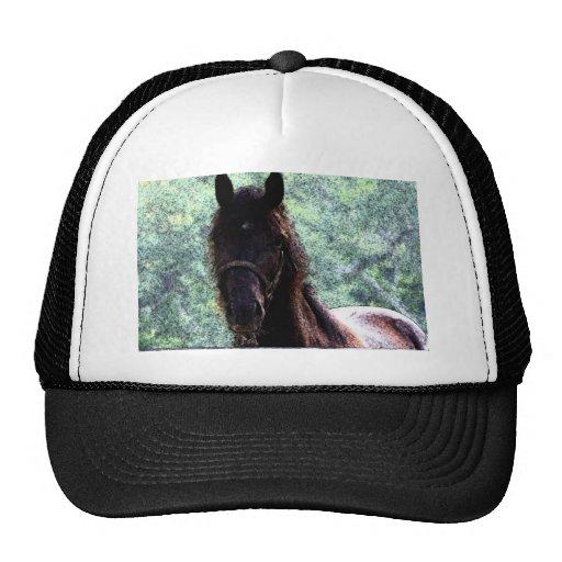 Fresco del caballo gorra