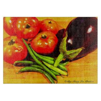 © fresco del cuttingboard del jardín de Maria Lee Tablas Para Cortar