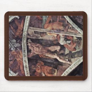 Fresco del techo para la historia de la creación e tapetes de ratones