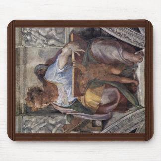 Fresco del techo para la historia de la creación e tapete de ratón