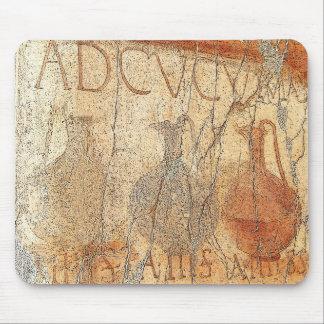 Fresco del vino en Herculano Tapetes De Ratones