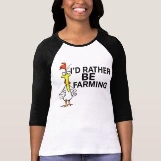 fresco divertido estaría cultivando bastante la camisetas