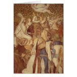 Fresco, Elisabeth-Galerie, Wartburg Castle Card