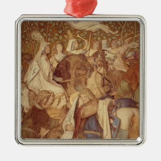 Fresco, Elisabeth-Galerie, Wartburg Castle Metal Ornament
